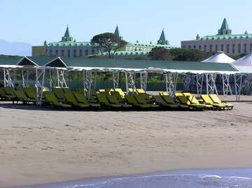 The beach at the hotel №20871