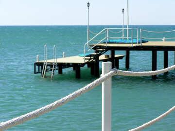 Beach Pier №20866