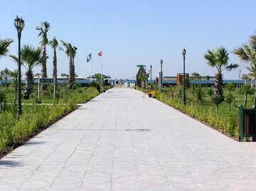 La strada per la spiaggia №20882
