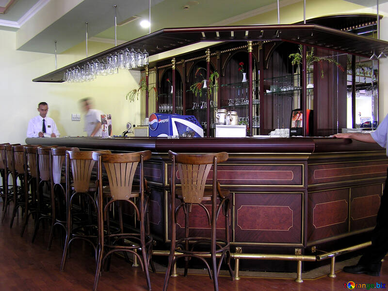 Simple design bar №20938