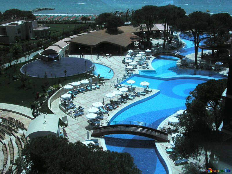 The pools at the hotel №20704