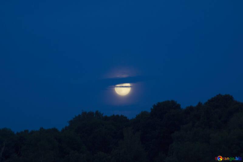 Восход луны №20357