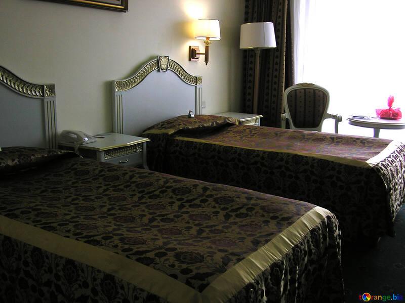 Nightstand between the beds №20821