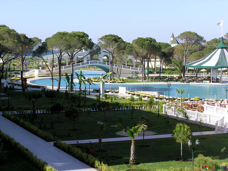 Pools in Turkish hotels №20945