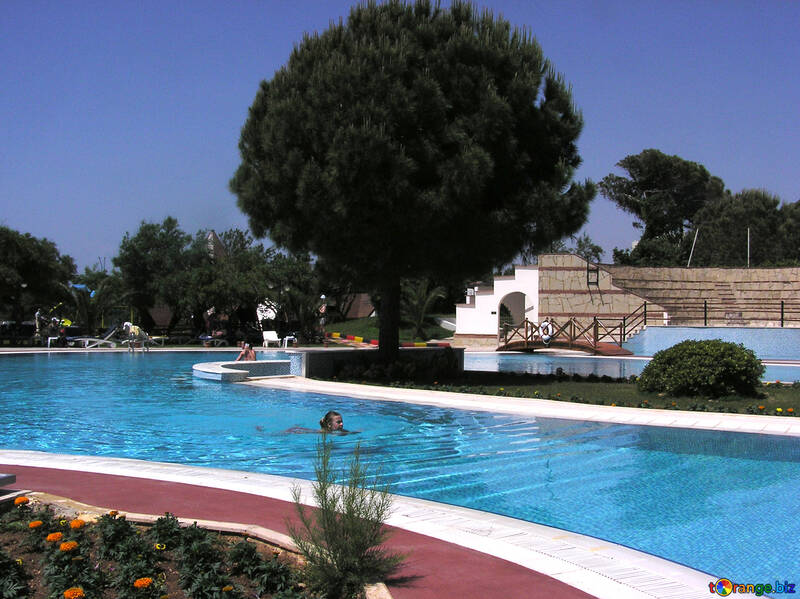 Long pool №20720