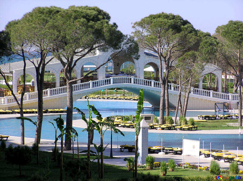 Large pools in hotels in Turkey №20944