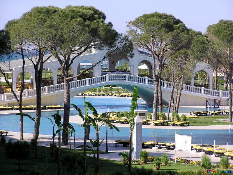 Große Pools für Hotels in Türkei №20944