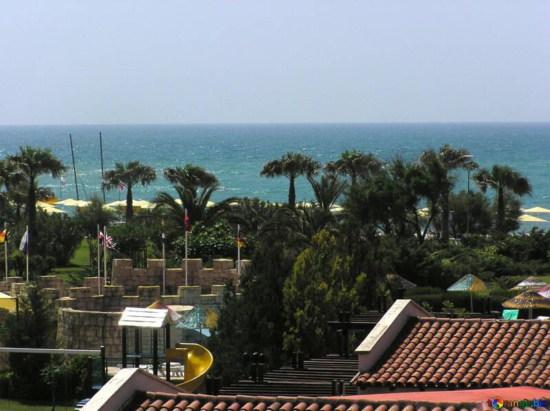 La vista sul mare dalla finestra №20733