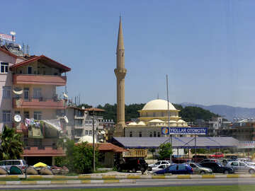 Moschea vicino alla strada №21799