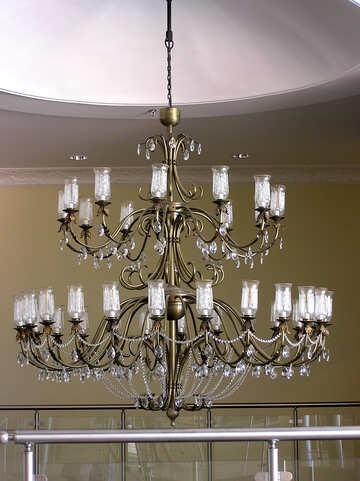 Antique chandelier №21712