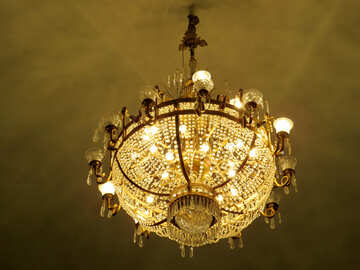 Theater chandelier №21640