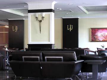 Leather in interior design №21713