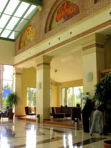 Interior Design hotel in the style of ancient Greece №21673