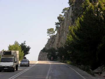 Die Straße entlang der Küste №21139