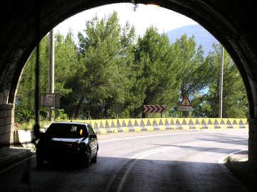 Tunnelausfahrt №21138