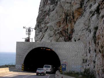 Mountain tunnel №21146