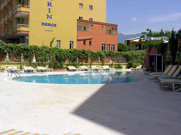 Small swimming pool in the hotel №21732