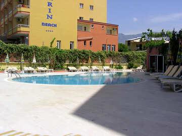 Kleines Schwimmbad im hotel №21732