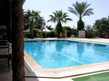 Swimmingpool in der Nähe des Hauses №21745