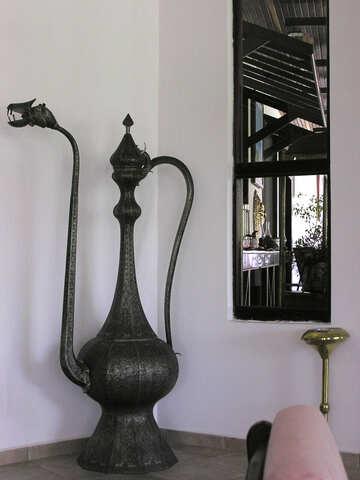 Antique oriental pitcher №21660