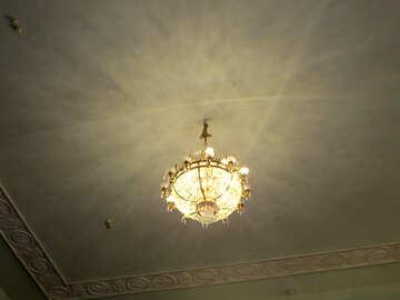 Antique chandelier №21642