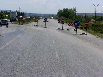 Road closed for repairs №21813