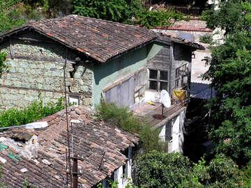 Tetti delle vecchie case №21018