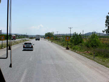 Speed limit of 50 kilometers an hour №21814