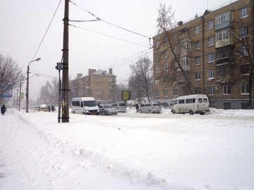 Routiers urbains en hiver №21555