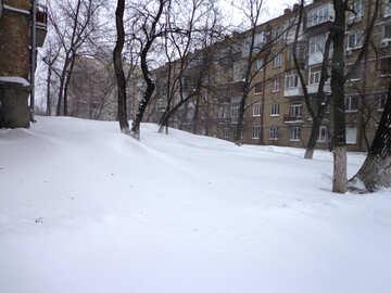Huge snowdrifts №21589