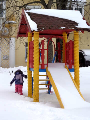 Snow baby joy №21528