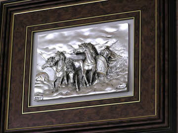 Volume painting horses №21728