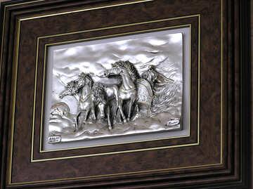Объемная картина лошади №21728