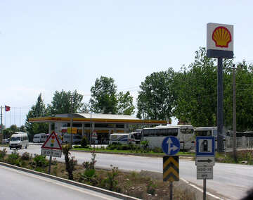 Shell Gas station №21204