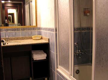 Bath shower as closed glass №21753