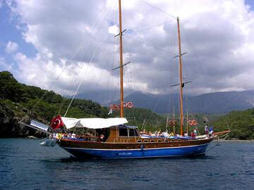 Escursione in barca in Turchia №21934