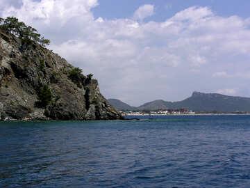 Le montagne della costa №21937
