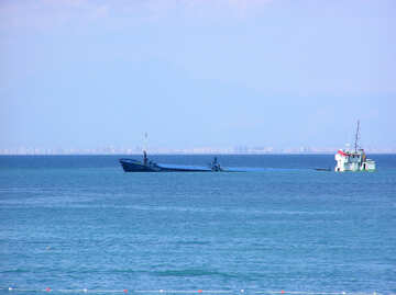 Ship ran aground №21990