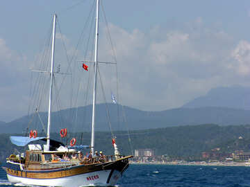 Yacht in Turchia №21948