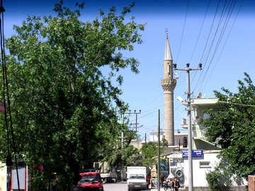 Il minareto della città turca №21832