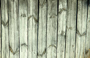 A fence made of wood texture №21879