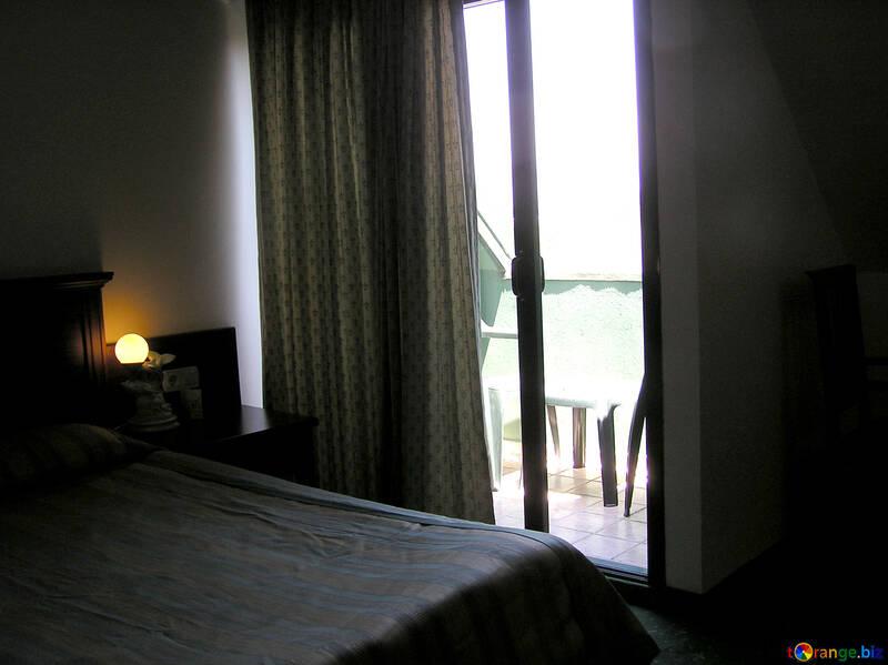 Salida al balcón de la habitación №21780
