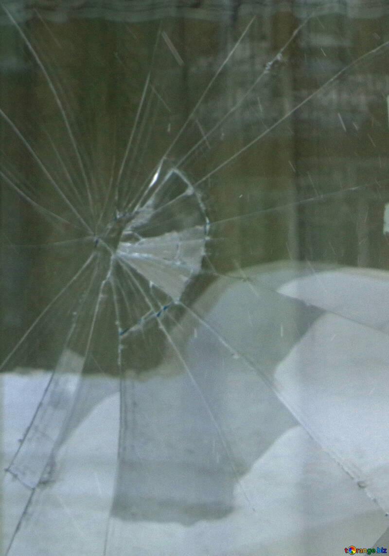 Texture of broken glass №21579