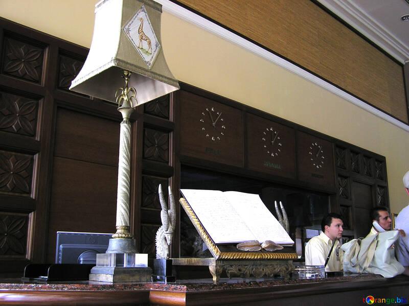 Hotel front desk №21076