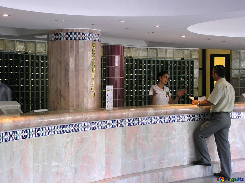 Hotel front desk №21099