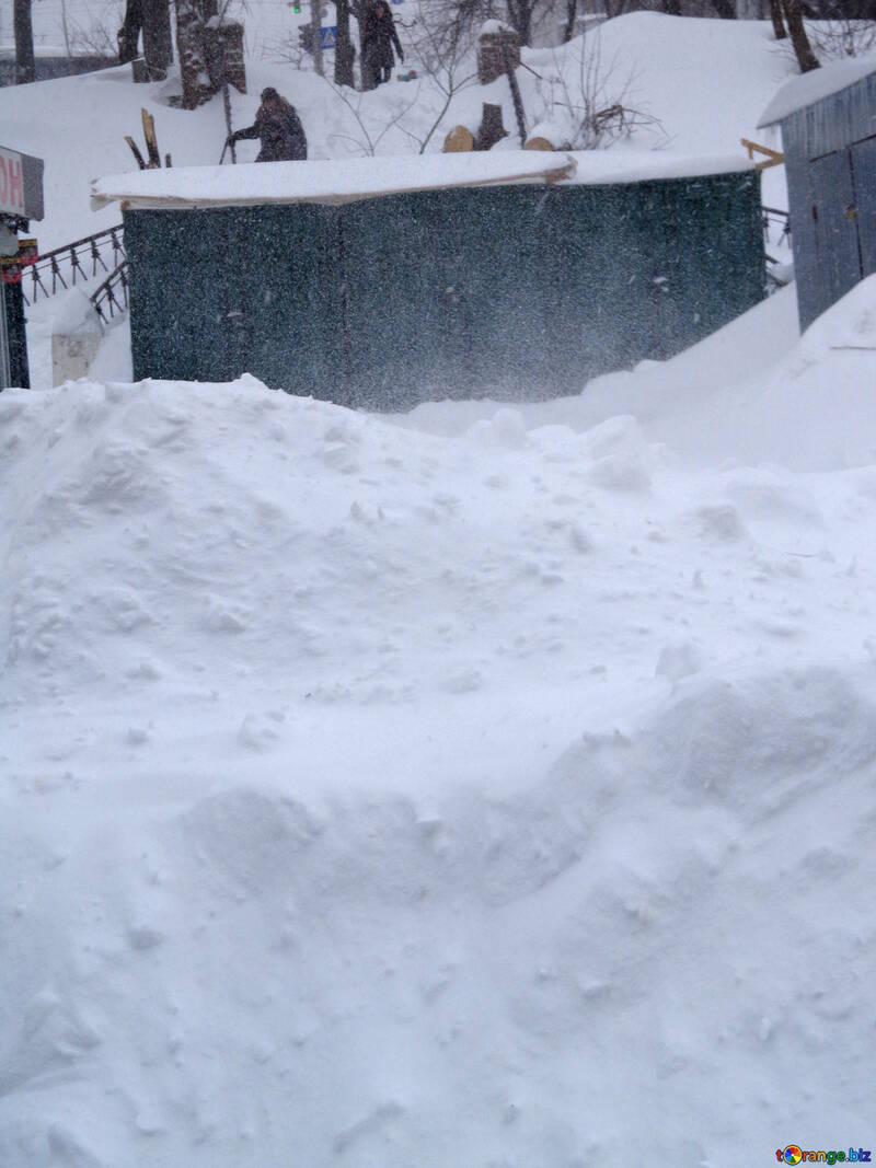 Impassable snowdrifts №21566