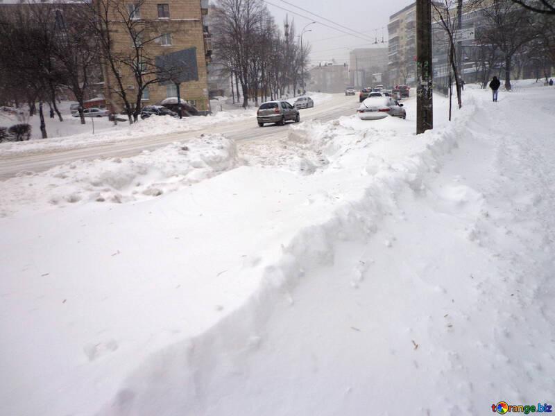 Snow rise №21553