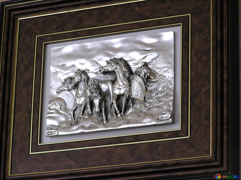 Volume painting horses №21728