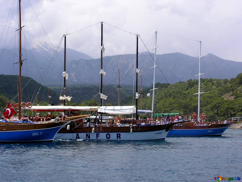 Barche all`ancora №21928