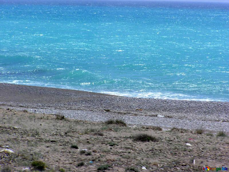 Spiagge Turche Mare Blu Far Cadere 21786